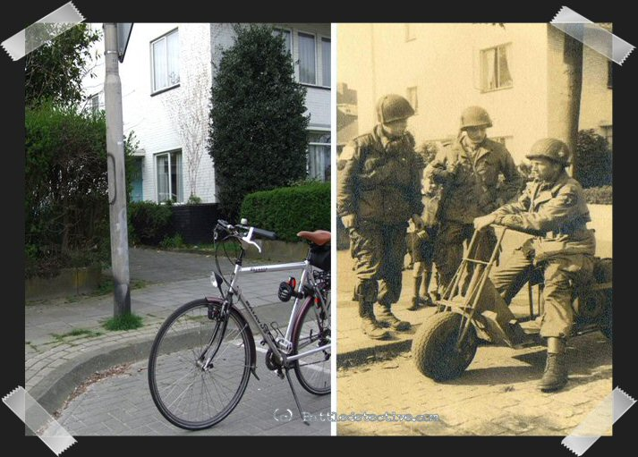 Scooter Américain WW2 Eindhovenclarencehester1